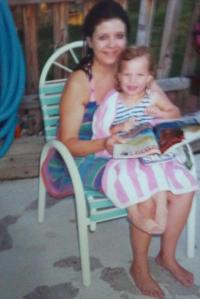 Momma and I (circa 1993-94?)